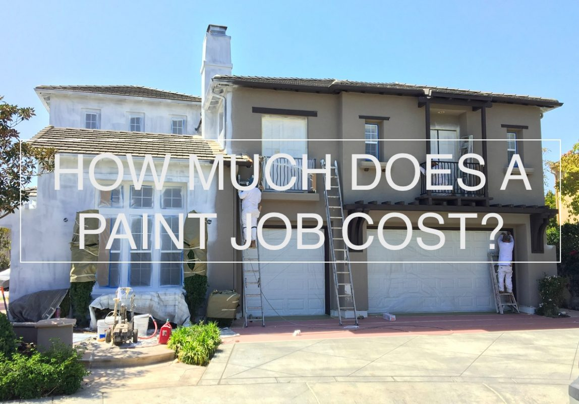 How much does an exterior paint job cost orange county painting co for How much does it cost to paint your house exterior